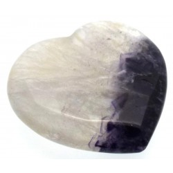 Blue John Gemstone Carved Heart 01