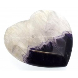 Blue John Gemstone Carved Heart 03