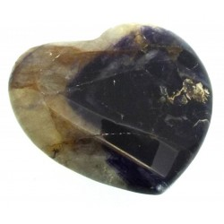 Blue John Gemstone Carved Heart 11