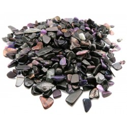 100gms Small  Sugilite Sand Tumbled Gemstone Chips