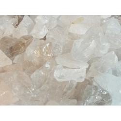 500gms Mixed Raw Quartz Gemstones