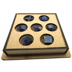 Lapis Lazuli Gemstone Sacred Geometric Set