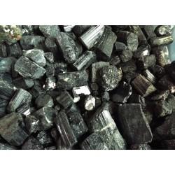 1kg Black Tourmaline Raw Gemstone
