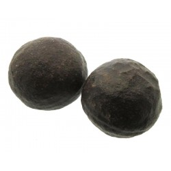 XXL Pair of Moqui Ball Raw Gemstones