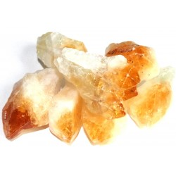 1 x Large Citrine Point Raw Gemstone
