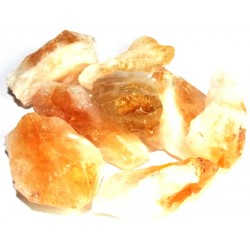 1 x Medium Citrine Point Raw Gemstone