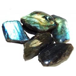 1 x Large Labradorite Raw Gemstone