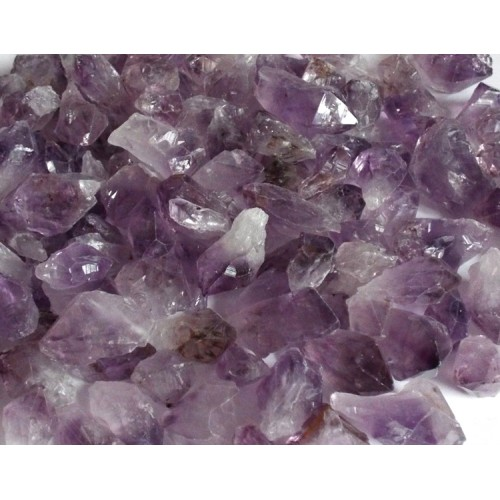 1 x Small Raw Amethyst Point Gemstone