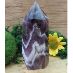 Chevron Amethyst Gemstone Tower 14
