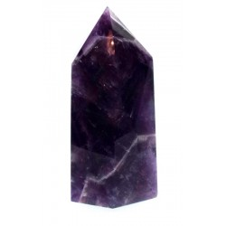 Chevron Amethyst Gemstone Tower 05