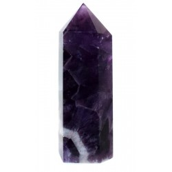 Chevron Amethyst Gemstone Tower 07