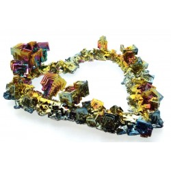 Bismuth Heart Shaped Specimen Number 01