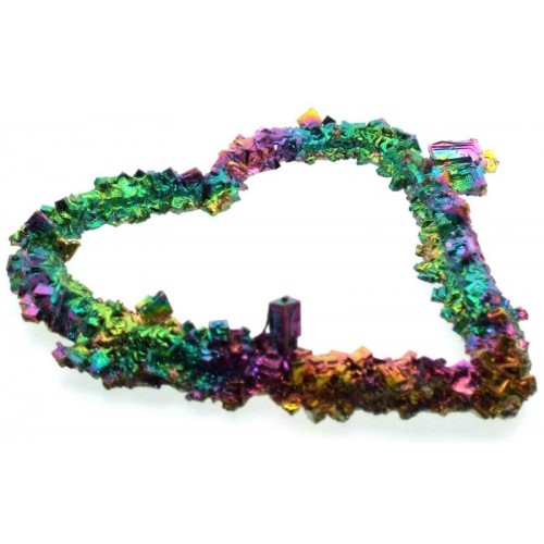 Bismuth Heart Shaped Specimen Number 02