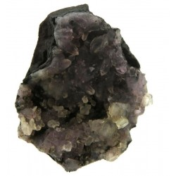 Amethyst and Calcite Specimen 03