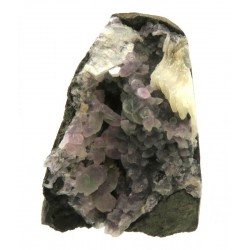Amethyst and Calcite Specimen 04