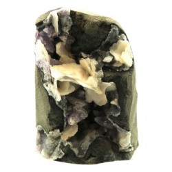 Amethyst and Calcite Specimen 11