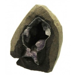 Amethyst and Calcite Specimen 19