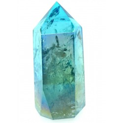Aqua Aura Quartz Gemstone Tower 03