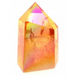 Candy Aura Quartz Gemstone Tower 03