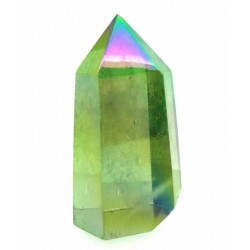 Apple Aura Quartz Gemstone Tower 03
