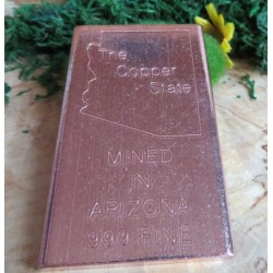 Medium Arizona Copper Ingot