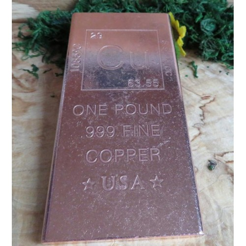 Large Arizona Copper Ingot