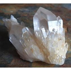 Elestial Quartz Gemstone Cluster 40