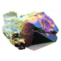 Elestial Titanium Aura Quartz Gemstone Point 17