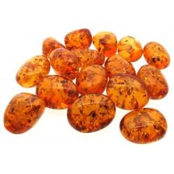 1 x Chinese Amber Tumblestone
