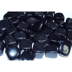 1 x Medium Black Obsidian Tumblestone