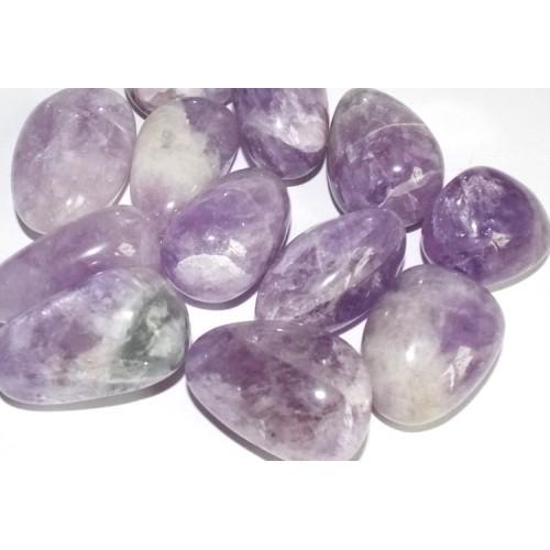 1 x Extra Large Cape Lavender Amethyst Tumblestone