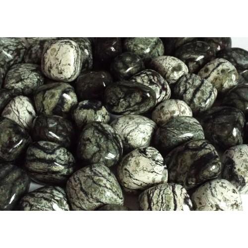 1 x Chrysotile Serpentine Tumblestone