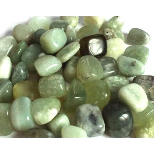 1 x Medium New Jade Tumblestone