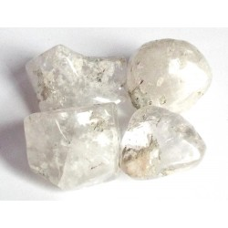 1 x Large Pollucite Tumblestone
