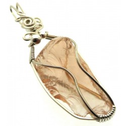 Venus Andara Silver Plated Wire Wrapped Pendant 349
