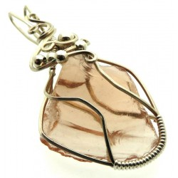 Venus Andara Silver Plated Wire Wrapped Pendant 351