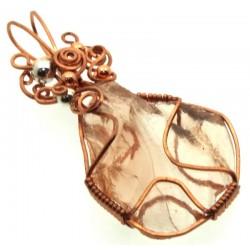 Venus Andara Copper Wire Wrapped Pendant 316