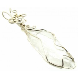 Faden Quartz Wire Wrapped Pendant Design 3