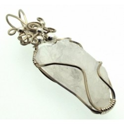 Indian Moonstone Wrapped Pendant Design 5