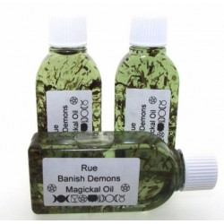 25ml Rue Herbal Spell Oil Banish Demons