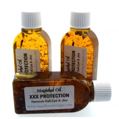 25ml XXX Protection Herbal Spell Oil Removing Evil