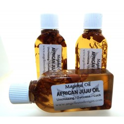 25ml African JuJu Herbal Spell Oil Uncrossing, Success, Luck