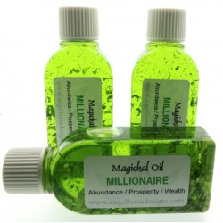 25ml Millionaire Herbal Spell Oil Abundance, Prosperity and Wealth