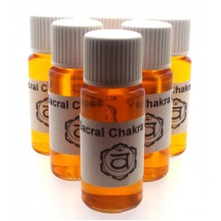 10ml Sacral Chakra Oil for Sensuality, Emotions and Freedom