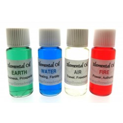 Full set of Four 10ml Elemental Oils