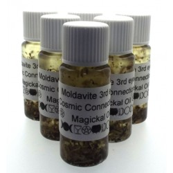 10ml Moldavite Gemstone Oil Cosmic Connections