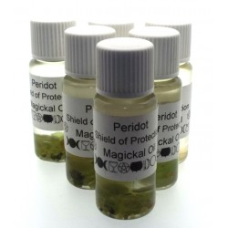 10ml Peridot Gemstone Oil Shield of Protection