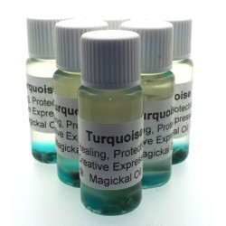 10ml Turquoise Gemstone Oil Healing Protection