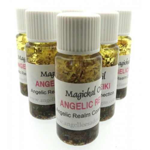 10ml Angelic Reiki Healing Herbal Spell Oil Love and Healing