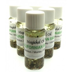 10ml Californian Sage Herbal Spell Oil Protection Money and Wishes